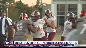 Fall high school sports delayed for many districts