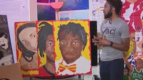 Central Florida artist honors victims of violence and racial injustice