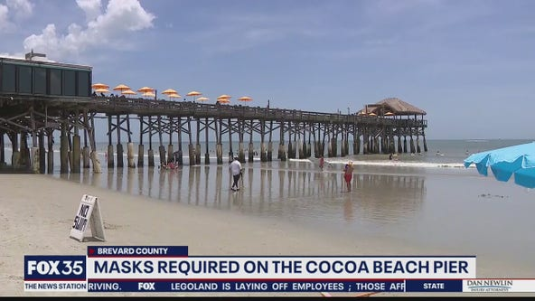 Masks required on the Cocoa Beach pier