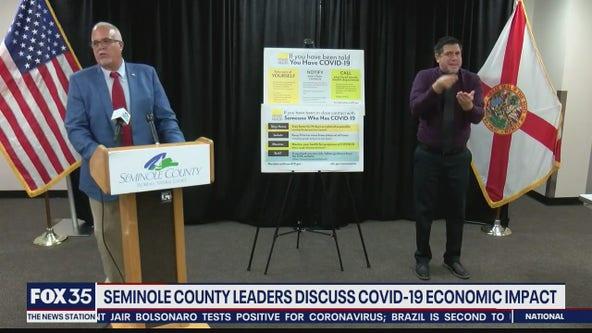 Seminole County leaders discuss COVID-19 economic impact