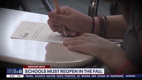 Florida public schools must reopen in August