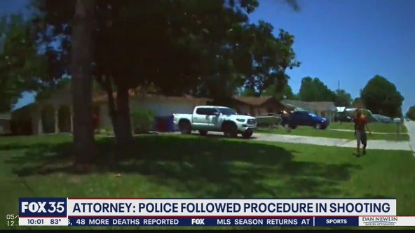 Police followed procedure in shooting, says attorney
