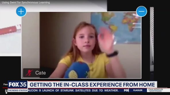 Getting classroom experience from home