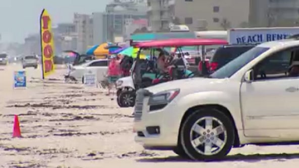 Already full: Beaches at New Smyrna Beach reach full capacity before noon on Fourth of July