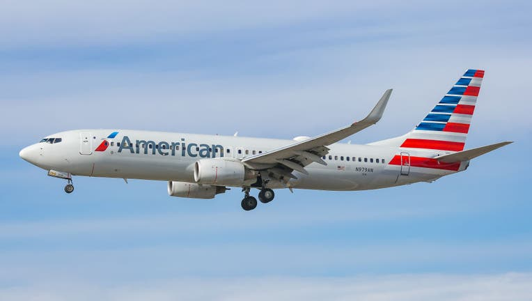 American Airlines Boeing 737-800 aircraft as seen on final approach landing at JFK John F. Kennedy International Airport in New York, USA on 14 November 2019. The airplane has the registration N979AN and 2x CFMI jet engines. The US carrier is the largest airline in the world by fleet size. AA AAL is a member of Oneworld aviation alliance. (Photo by Nicolas Economou/NurPhoto via Getty Images)