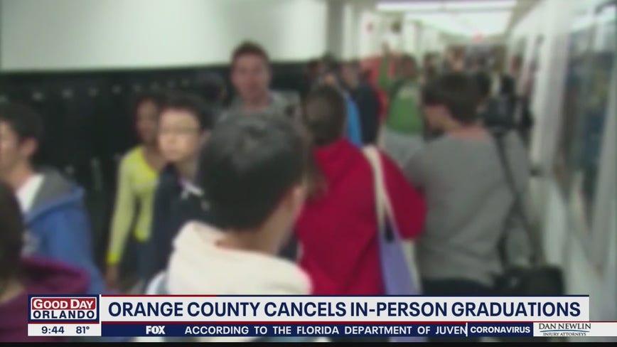 Orange County cancels in-person graduations