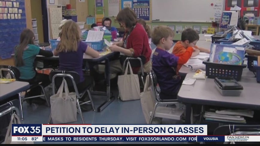 Petition to delay in-person classes in Florida