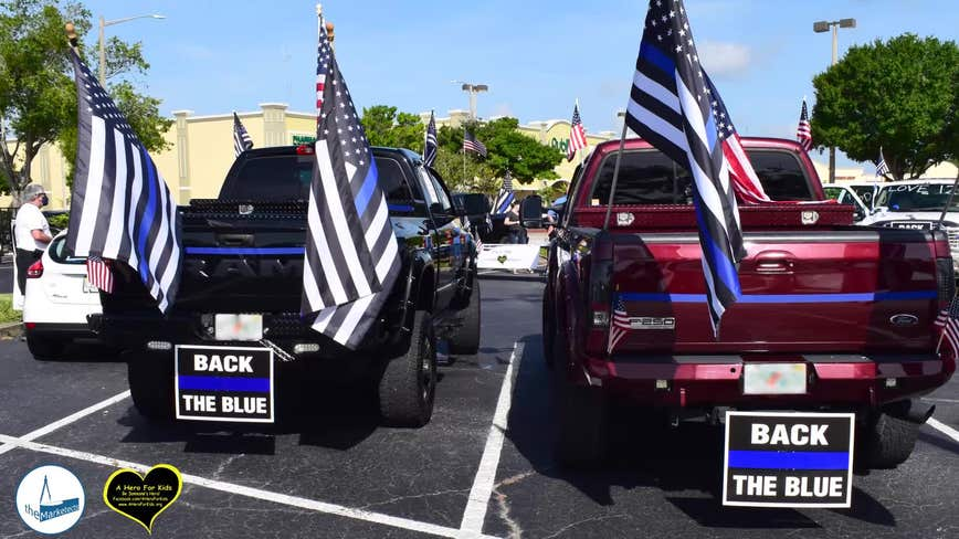 Red, White and Back the Blue event honors law enforcement