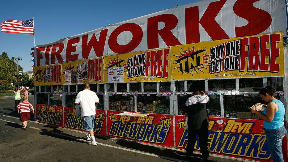 86a55031-California Fireworks Sales Under Scrutiny Due To Wildfire Threat