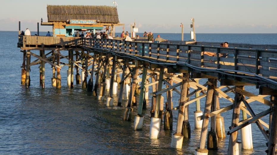 Mai Tiki Bar on Cocoa Beach Pier.