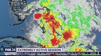 Extremely active hurricane season