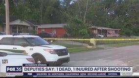 1 dead, 1 injured in Altamonte Springs shooting