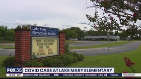 COVID-19 case at Lake Mary Elementary School