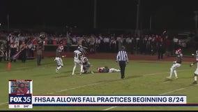 FHSAA allows fall practice beginning Aug. 24