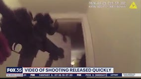 Officer's body camera shows exchange of gunfire with suspect