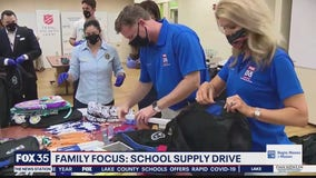 School drive helps kids prepare for new year