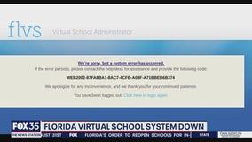 Florida Virtual School system down
