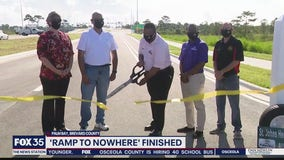 'Ramp to nowhere' in  Palm Bay now open