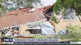 Tornado teats through DeLand