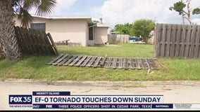 NWS confirms tornado in Merritt Island