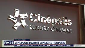 Cinepolis Luxury Cinemas reopens in Winter Garden