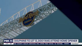 Dolphins to let fans attend home opener in limited capacity