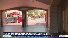 Disney attendance concerns