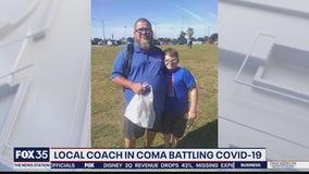 Apopka baseball coach battling COVID-19