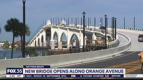 New bridge opens along Orange Avenue in Daytona Beach