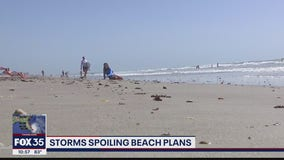 Isaias spoiling beach plans