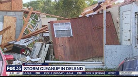 'The Lord got us through' says survivor or DeLand tornado