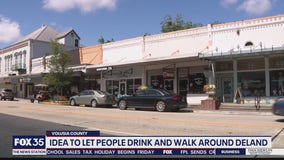 DeLand considering letting people carry alcoholic drinks downtown