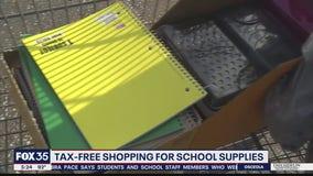 Back-to-school tax free weekend