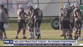 NO UCF practice on Thursday; FIU game postponed