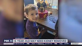 Boy, 6, may need new kidney