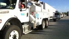 OUC crews head to Louisiana to help restore power after Hurricane Laura