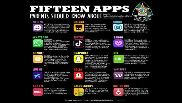 15 apps pasco sheriff