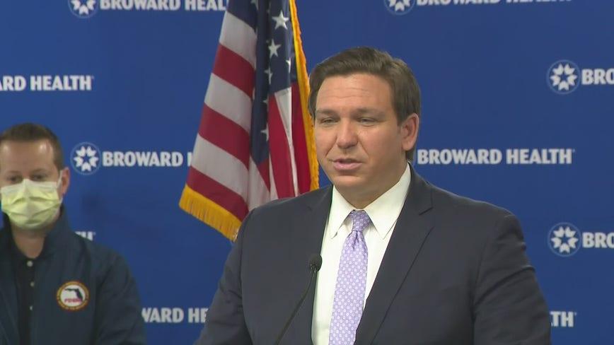 Governor DeSantis gives coronavirus update