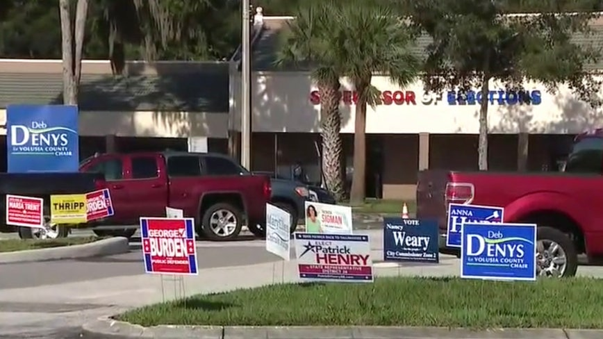Early voting for Florida primary ends this weekend