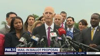 Senator Scott proposes changes to laws before election