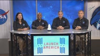 Astronauts discuss upcoming manned mission