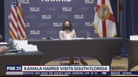 Sen. Kamala Harris visits South Florida