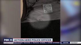 Officer saved by bulletproof vest is no stranger to danger