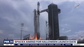 SpaceX aiming for Halloween launch date for next crew