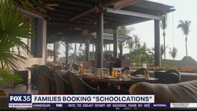 Families booking 'schoolcations' at luxury resorts