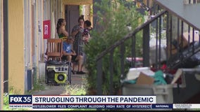Families struggling through the pandemic
