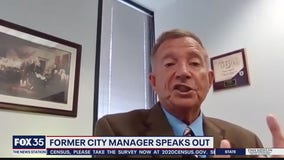 Former city manager speaks out about arrest