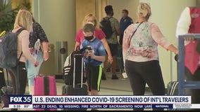 Enhanced COVID-19 screening ending at U.S. airports