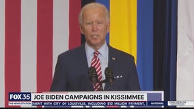 Joe Biden campaigns in Kissimmee