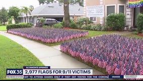 Altamonte Springs home displays thousands of flags for 9/11 victims